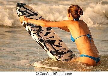 sport eau, panneau boogie