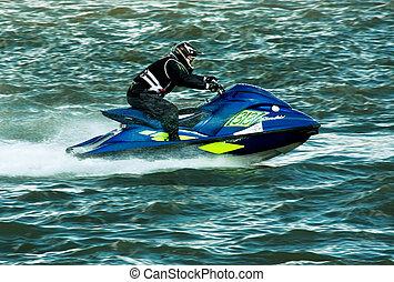 sport eau, ski, jet