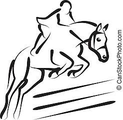 sport, equestrian