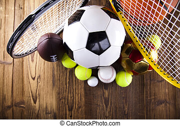 Sport equipment and balls