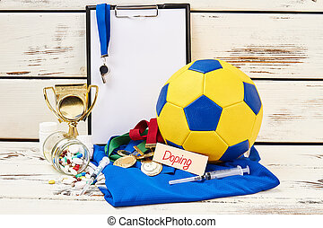 Sport equipment and drugs
