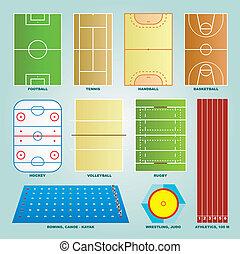 Sport field set