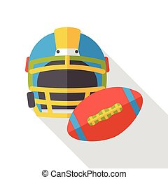 sport football flat icon