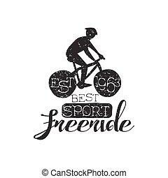 Sport Freeride Vintage Label