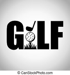 sport, golf, conception