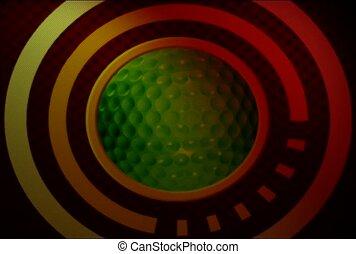 sport, golf, golf ball
