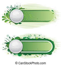 sport, golfen