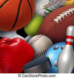 sport, háttér