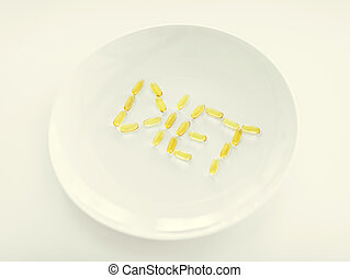 plate with meds