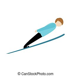 sport, hiver, image