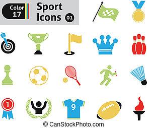 sport, icônes