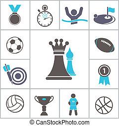 sport, icona