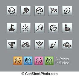 Sport Icons // SatinBox Series