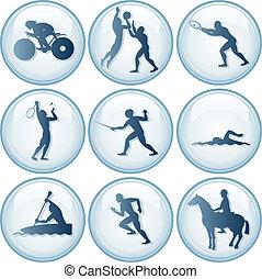 Sport Icons Set 3