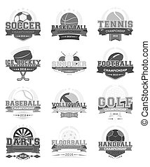 Sport icons vector - set