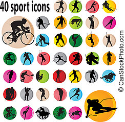 sport, ikona
