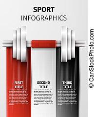 sport, infographics