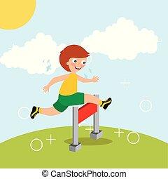 sport, kinder, aktivität