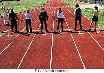 sport, konkurrenz, geschaeftswelt