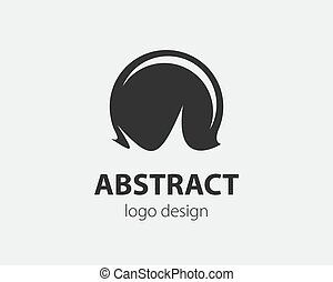 Sport logo design element. Ball logotype company.