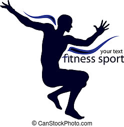 Logo illustration for sport club, company