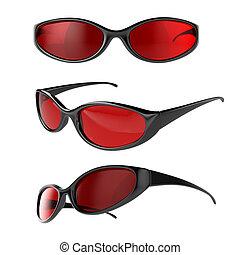 sport, lunettes