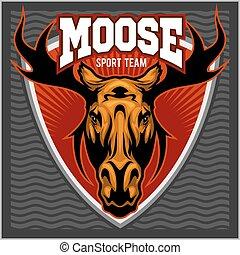 Sport Moose team logo.