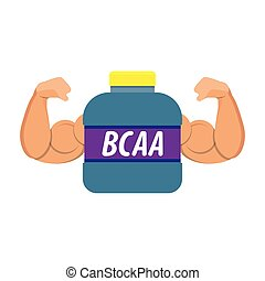 sport nutrition icon, love fitness, health, idea for logo,...