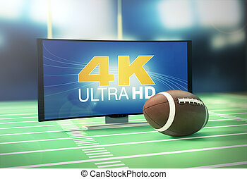 sport on 4k format