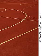 sport pitch - School sport arena。 Outdoor for different...