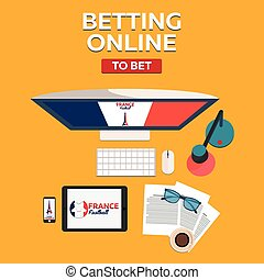 Sport predictions. Betting online. Football online. France.