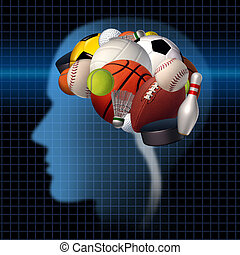Sport Psychology - Sport psychology concept as a group of ...