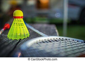 sport, racchetta gioco volano