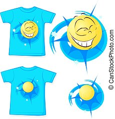 sport shirt fashion - vector illust