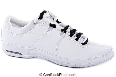 Sport shoe for running on white background