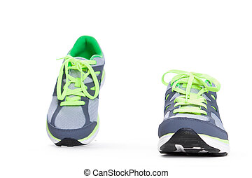 Sport shoes isolated on white background
