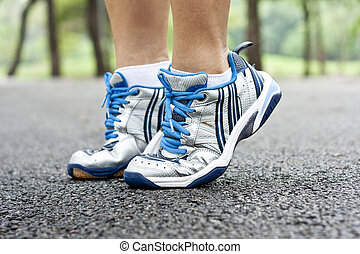 Sport shoes running