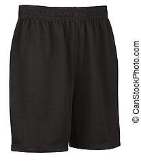 sport shorts isolated on white