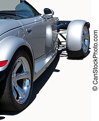 sport, silber, coupe