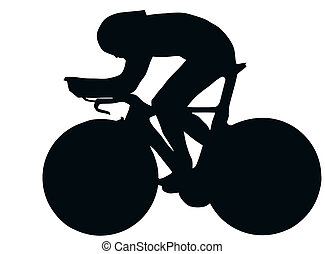 Sport Silhouette - Bicycle Racer