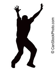 Sport Silhouette - Bowler Appealing - Sport Silhouette -...
