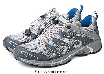 sport sko, isoleret