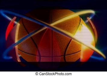 sport, sphère, bball