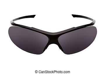 Sport sunglasses, isolated on a white background