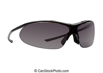 Sport sunglasses, isolated, white background