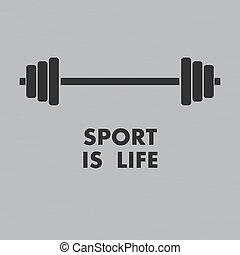 sport, tło