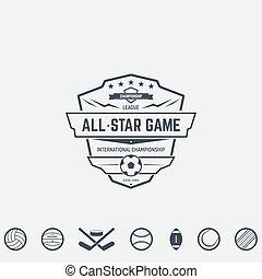 Sport team emblems