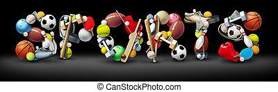 sport, testo
