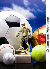 Sport theme! Balls, and other sport