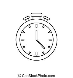 Sport timer chronometer icon vector illustration graphic...